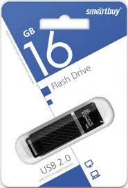 USB Flash <b>Smartbuy 16GB</b> USB2.0 <b>Quartz</b> Black - цена на USB ...