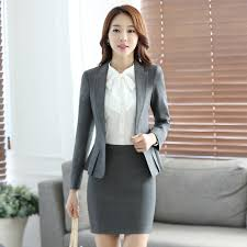 compare prices on interview skirt suits online shopping buy low women s professional suite autumn 2016 long sleeve women s suits chaps interview hotel uniforms jacket