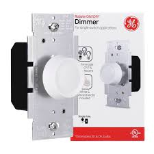 Push ON/OFF Switch Rotary Light Dimmer <b>Universal LED</b> Dimmer ...