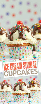 the best cupcake ideas for bake s and parties kitchen fun ice cream sundae cupcakes