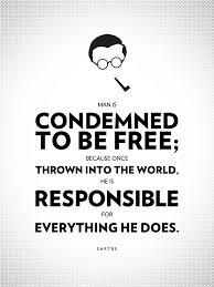 Sartre Existentialism Quotes. QuotesGram via Relatably.com