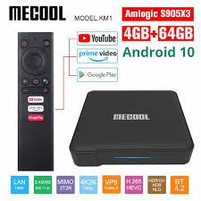 Android 10.0 <b>Mecool KH3 Android</b> TV Box 2GB 16GB Allwinner ...