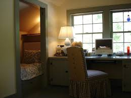 loft home office guest bedroom eclectic home office bedroom home office