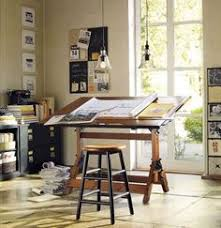 drafting table art drawing office