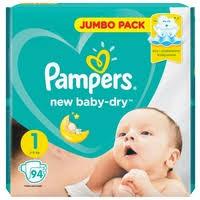 <b>Pampers подгузники New</b> Baby Dry 1 (2-... — купить по выгодной ...