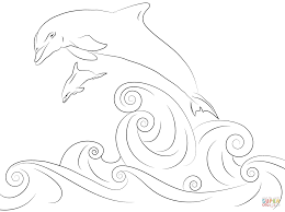 Small Picture Coloring Pages Draw A Dolphin Coloring Pages Coloring Page