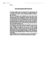 essay family life  dnndmyfreeipme how does technology affect family life university media studies page