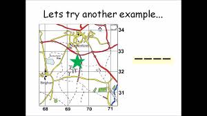 how to use four figure grid references geographical skills how to use four figure grid references geographical skills