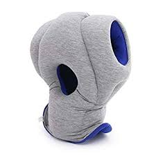 CARRY <b>TRIP Ostrich Pillow</b> GO <b>Travel Pillow</b> with Memory Foam for ...