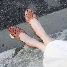<b>2019 VALLU Women's</b> Shoes Genuine Leather Hollow Comfortable ...