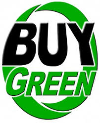 75 of consumers say that it is important to buy from green companies buy environmentally friendly