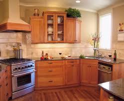 corner sinks design showcase: ample natural ventilation ideal for working at the corner sink