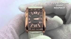 Женские японские наручные <b>часы Orient NRAP003T</b> - YouTube