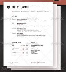 stylish resume modern professional resume templates