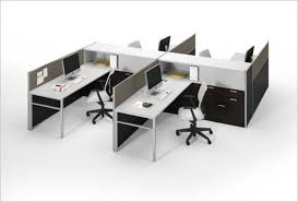 open office cubicles. threeh 4 pack open office cubicles