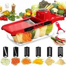 Creative Mandoline <b>Slicer</b> Vegetable <b>Cutter</b> with <b>Stainless Steel</b> ...