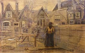 Sien's Mother's House Seen from the Backyard | <b>Van</b> Gogh | <b>Vincent</b> ...
