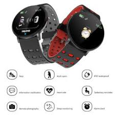 <b>119 Plus Smart Bracelet</b> Heart Rate <b>Smart Watch</b> Man <b>Wristband</b> ...