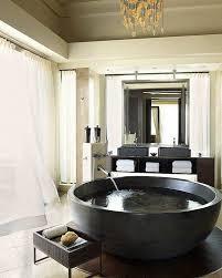 bathroom place vanity contemporary: spectacular large bathtubs round tub granite luxury bathroom interior modern vanity