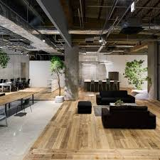 we performed the interior design for the tokyo office of akqa a global ideas and innovation company since their office is located on the first basement awesome open office plan coordinated
