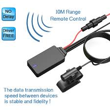 8Pin Wireless Handsfree <b>Bluetooth 5.0</b> Module Aux Cable ISO ...