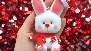 How To Make The <b>New Year's</b> Felt Rabbit - DIY Crafts Tutorial ...
