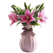 XG Inc <b>Modern</b> Simple <b>vases</b>,<b>Ceramic Vase</b>,<b>Hydroponics</b> Plants ...
