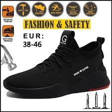 2020 new upgrade thickening <b>Fashion</b> Steel Toe Shoes Fiber Safety ...