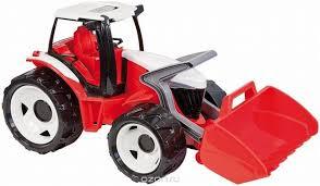 Купить <b>Lena Трактор</b> с грейдером цвет красный белый - детские ...