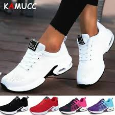 <b>KAMUCC</b> Platform Sneakers Shoes Breathable Casual Woman ...