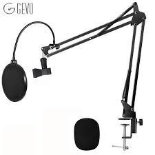 <b>GEVO NB 35</b> Microphone Suspension Arm Stand Clip Holder ...