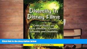 online diversity in disney films critical essays on race 00 15