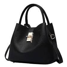 Shoulder Bags,Rakkiss <b>Leather</b> Buns 2Pcs Women's <b>Mother Bag</b>