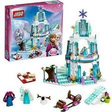 <b>316pcs Dream Princess</b> Castle <b>Elsa</b> Ice Castle <b>Princess Anna</b> Set ...