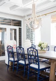 dining room khaki tone: coastal dining room blue and white