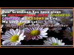Happy Birthday greetings to Grandmother, Birthday wishes, Sms to ... via Relatably.com