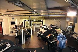 Piccolo Sala Registrazione : Reparto registrazione tastiere musik produktiv