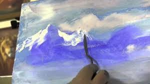 Игорь Сахаров, <b>горный пейзаж</b> маслом - YouTube