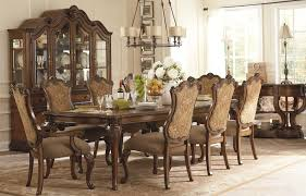 Formal Dining Room Sets With China Cabinet Ethan Allen Dining Room Set W 6 Chairs And China Cabinet Allen