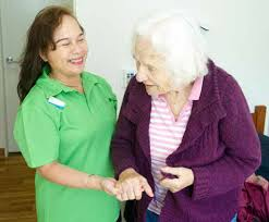 working in aged care now most older people who rely on others to provide care will be grateful for your work and they take an interest in your life