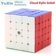 YuXin <b>Cloud</b> Kylin 5x5x5 волшебный куб чжишэн Единорог 5x5 ...