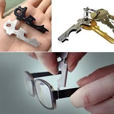 Buy 8 In 1 <b>Stainless Steel Multi</b>-<b>function</b> Pocket Tool Key Chain ...
