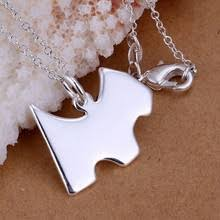 Compare Prices on <b>925 Silver</b> Dog Necklace- Online Shopping/Buy ...