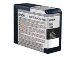 <b>Epson T5808</b> 80ml <b>Matte Black</b> Ink Cartridge | Ebuyer.com
