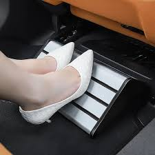 Universal Office Home Car Rear Seat <b>Footrest Foot Rest</b> Pedal For ...