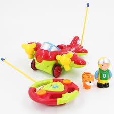 <b>Детский радиоуправляемый красный самолетик</b> Cartoon Airplane ...