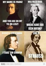 Music humor/old timey stuffs on Pinterest | Classical Music ... via Relatably.com