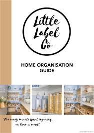 Little Label Co: Home Organisation Labels & Storage Solutions