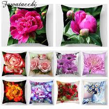 Fuwatacchi Цветочная живописная Подушка, <b>чехлы для</b> ...