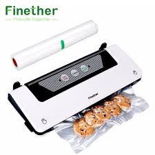 Electric <b>Household Food</b> Vacuum Sealer Package <b>Machine</b> Film ...